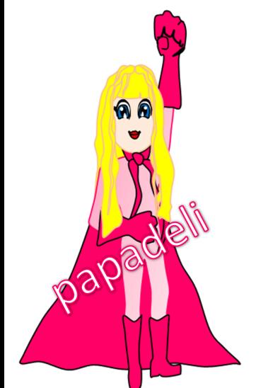 Supergirl by papadeli