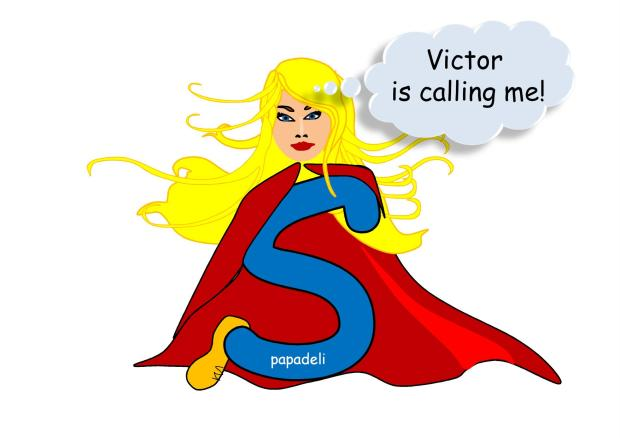"""Victor is calling me"" by papadeli"